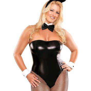 Plus Size Cheap Thrills Club Bunny