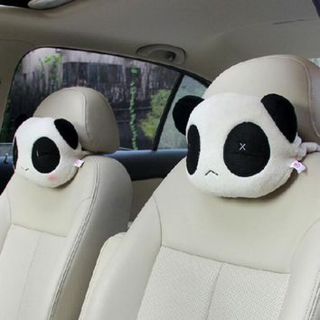Dewtreetali Cute Panda Plush Headrest