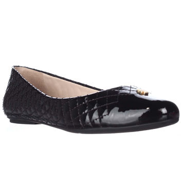 Tory Burch Kent Quilted Ballet Flats - Black
