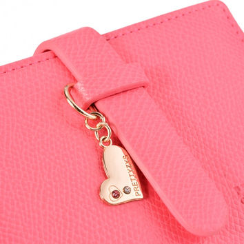 Lady Lovely Purse Clutch Wallet Short Small Bag Card Holder