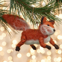 ModCloth Woodland Creature Friends in Sly Places Ornament