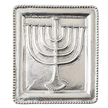 Hanukkah Menorah Serving Tray