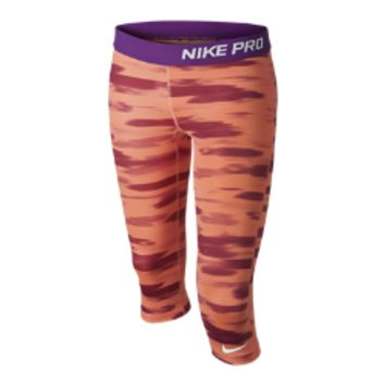 Nike Pro Graphic Girls' Training Capri Pants