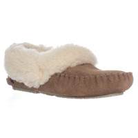Bearpaw Michelle Fleece Lined Slippers - Hickory