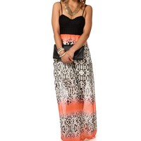 Sale-ombre Maxi Dress