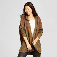 Women's Spacedye Oversized Cocoon Cardigan - Mossimo Supply Co.™ Olive