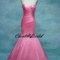 Mermaid Strapless Sweetheart-neck Floor-length  Prom Dresses/Party Dress/Evening Dress/Formal Dress/Bridesmaid Dresses