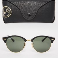 Ray-Ban Clubmaster Round Sunglasses 0RB4246 at asos.com