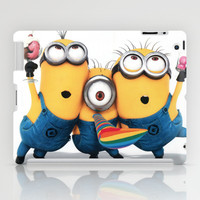 Minion Shakes iPad Case by Harry Martin
