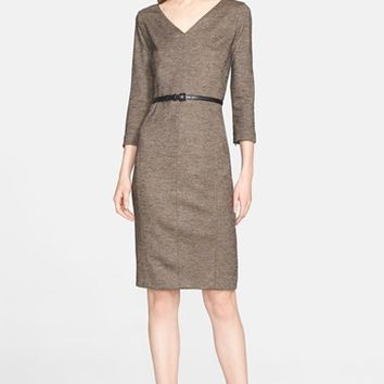 Women's Max Mara 'Rupia' Wool Sheath Dress,