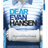 Dear Evan Hansen The Broadway Musical Poster
