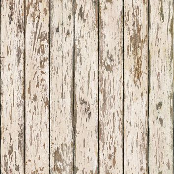Brewster Wallpaper CT13282 Neutral Weathered Wood