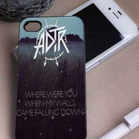 A Day To Remember Quotes | Rock Band | iPhone 4 4S 5 5S 5C 6 6+ Case | Samsung Galaxy S3 S4 S5 Cover | HTC Cases