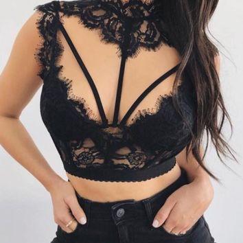 Kina Lace Bralette Top