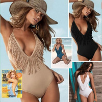Sexy One Piece Swim Suits Bathing Suits For Women Swimdress Bikini Maillot De Bain = 1932307140
