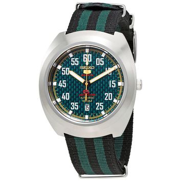 Seiko 5 Sports Automatic Green Dial Mens Watch SRPA89K1