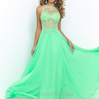 Blush Prom 9936 Lace Evening Gown