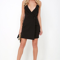 Risque Business Black Dress