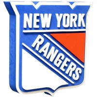 New York Rangers - Logo 3D Foam Sign With Wall Strap