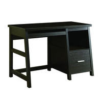 "Cappuccino 48""L Computer Desk with a Storage Drawer"
