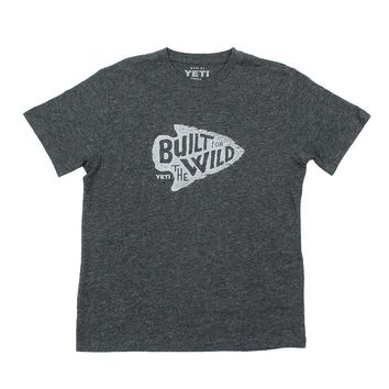 Arrowhead Tee in Charcoal by YETI