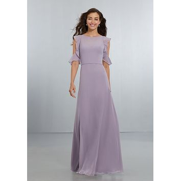 Morilee Bridesmaids 21552 Boho Chiffon Bridesmaid Dress