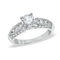 Celebration 102™ 1-1/6 CT. T.W. Diamond Engagement Ring in 18K White Gold (I/SI2)