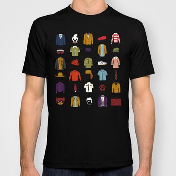 Wes Anderson´s Luggage T-shirt by Alejandro Giraldo