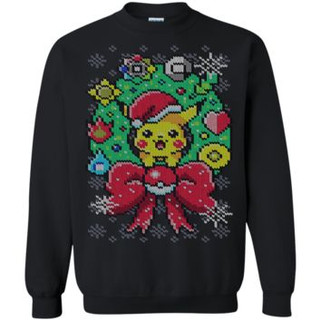 A very pika Pokemon Ugly Sweater Perfect Christas Gifts