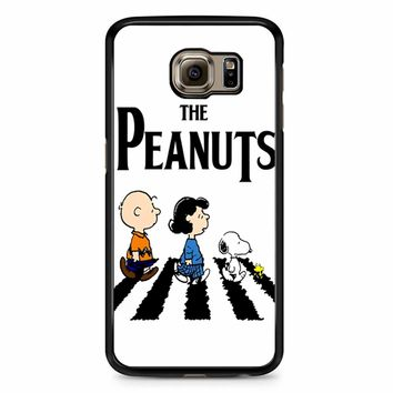 Peanuts Beatles Samsung Galaxy S6 Edge Case