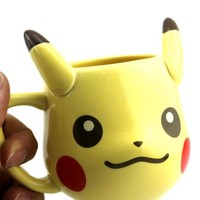 In The Style Of Pikachu Ceramic Mug