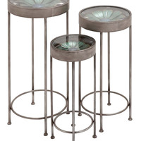 Metal Plant Stands (Set of 3)