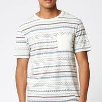 On The Byas Stoic Jacquard Pocket T-Shirt at PacSun.com