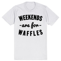 Weekends are for Waffles