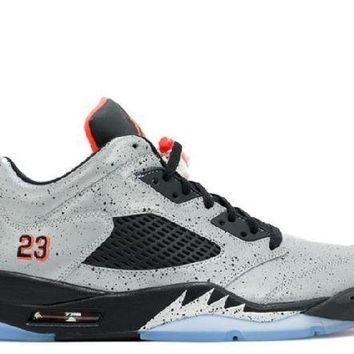 DCCKUN7 Ready Stock Nike Air Jordan 5 Retro Low Neymar Neymar Basketball Sport Shoes