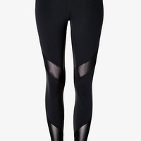Mesh Pieced EXP Core Compression Legging from EXPRESS
