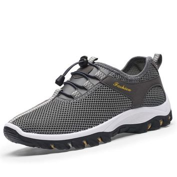 Summer Breathable Mesh Light Sneakers Shoes