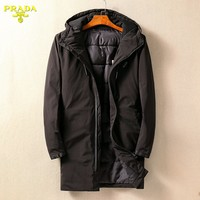 Boys & Men Prada Fashion Casual Cardigan Jacket Coat