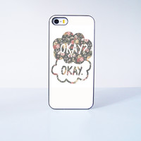 Okay? Okay  Plastic Case Cover for Apple iPhone 5s 5 6 Plus 6 4 4s  5c