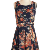 ModCloth Mid-length Sleeveless A-line Commute Route Dress