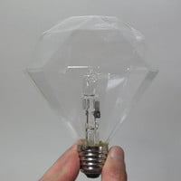 Diamond Light Bulb - diamond bulb - diy lamp set - light bulb - 220V - modern lamp - home decor
