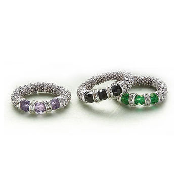 Stretch Rings - New Age, Spiritual Gifts, Yoga, Wicca, Gothic, Reiki, Celtic, Crystal, Tarot at Pyramid Collection