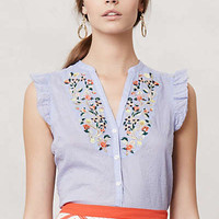 Anthropologie - Threadbloom Blouse