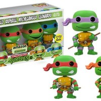 Funko POP Television Glow TMNT Vinyl Figure, 4-Piece [Amazon Exclusive]