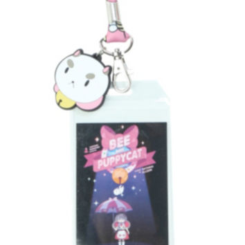 Cartoon Hangover Bee And PuppyCat Lanyard