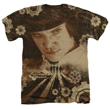 A Clockwork Orange Tortures of the Damned Heathered Tee Shirt
