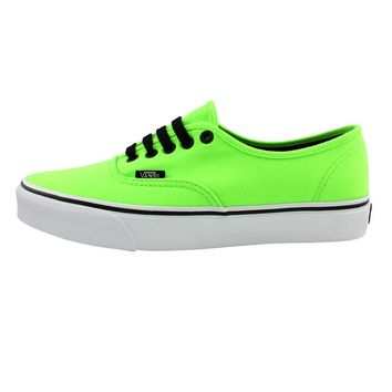 Vans Authentic Skate Shoe, Lime Green  Journeys Shoes