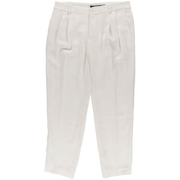 Lauren Ralph Lauren Womens Crepe Double Pleat Dress Pants
