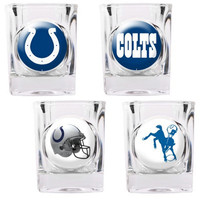 Indianapolis Colts 4pc Collector's Shot Glass Set