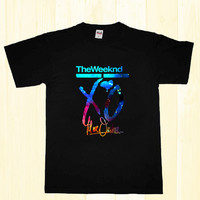 the weeknd xo galaxy nebula t-shirt unisex adults S-2XL